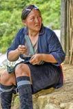 Folk av Sa-PA i Vietnam Arkivbilder