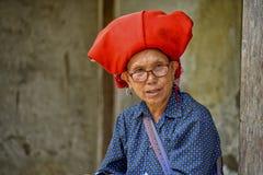 Folk av Sa-PA i Vietnam Arkivfoto