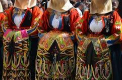 Folk av Sardinia Royaltyfria Bilder
