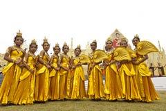 Folk av Thailand Arkivfoton