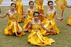 Folk av Thailand Royaltyfri Bild