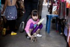 Folk av Thailand Arkivfoto
