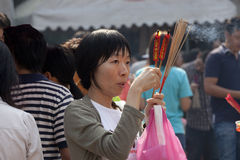 Folk av Thailand Arkivbilder