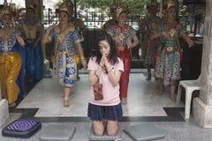 Folk av Thailand Royaltyfri Foto
