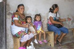 Folk av Valladolid Royaltyfri Fotografi