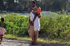 Folk av Zanzibar, Tanzania Royaltyfri Fotografi