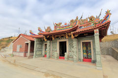 Folk belief temple. In lonely mountain village, xiamen city, china Stock Photos