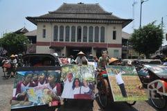 Folk CelebrateThe Inaguration av den indonesiska nya presidenten Arkivfoton