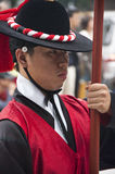 Folk celebrations in Seoul Royalty Free Stock Photo