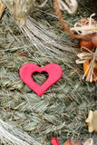 Folk Christmas spruce tree Stock Photo