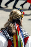 Folk costume Royalty Free Stock Image
