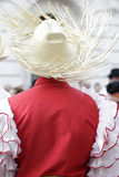 Folk costume of Cuba Royalty Free Stock Images