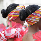 Folk costume of Cuba Stock Photo