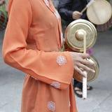 Folk costume of Indonesia Royalty Free Stock Photos