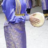 Folk costume of Indonesia Stock Photos