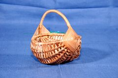 Folk craft, toys from straw, flax, weaving. Souvenirs, folk craft, toys from straw, flax, weaving stock photo