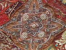 Folk crafts background. Royalty Free Stock Photo