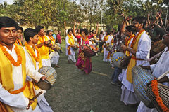 Folk Culture in Festival Royalty Free Stock Photography