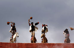 Folk dance Royalty Free Stock Photography