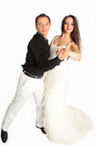 The folk dance Royalty Free Stock Image