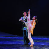 Folk dance ballet-The dance drama The legend of the Condor Heroes Stock Photography