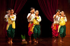 Folk Dance, Cambodia Stock Photo