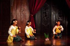 Folk Dance, Cambodia Royalty Free Stock Photo