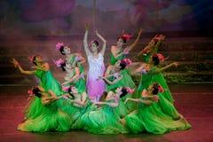 Folk Dance: Lotus Royalty Free Stock Photography