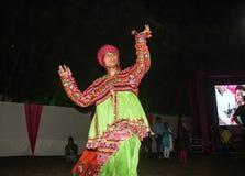 Folk Dance Navratri Stock Images
