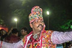 Folk Dance Navratri Royalty Free Stock Images