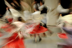 Folk dance performance Royalty Free Stock Photos