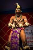 Tribal Folk Dance performance Stock Images