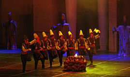 folk dance show Royalty Free Stock Photos