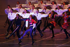 Folk dance show Stock Photo