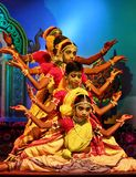 Folk dance show by Gotipua Dancers in India Stock Photo