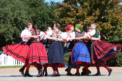 Folk dance Royalty Free Stock Photography