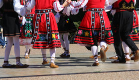 Folk dance in Texas Royalty Free Stock Photos