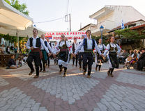 Folk Dance Troop Royalty Free Stock Photos