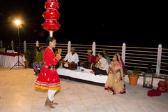 Folk dancer Royalty Free Stock Image
