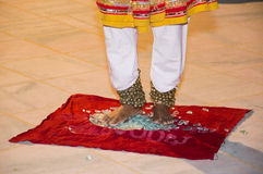 Folk dancer Stock Photos
