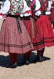 Folk dancers Royalty Free Stock Photography