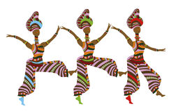 Folk dancing Royalty Free Stock Photos