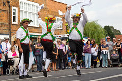 Folk dancing Stock Photos