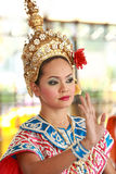 Folk Dancing,Bangkok,Thailand stock photo