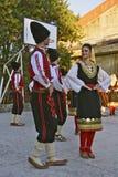 Folk dancing Royalty Free Stock Photos