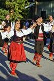 Folk dancing Royalty Free Stock Photo