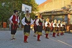 Folk dancing Royalty Free Stock Images