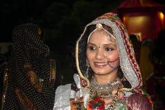 Folk dress Navratri Stock Photos