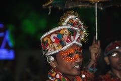 Folk dress Navratri Stock Image