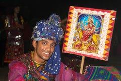 Folk dress Navratri Stock Photography